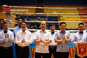 Chùm ảnh: Lễ khai mạc Giải Vô địch Muay toàn quốc 2020