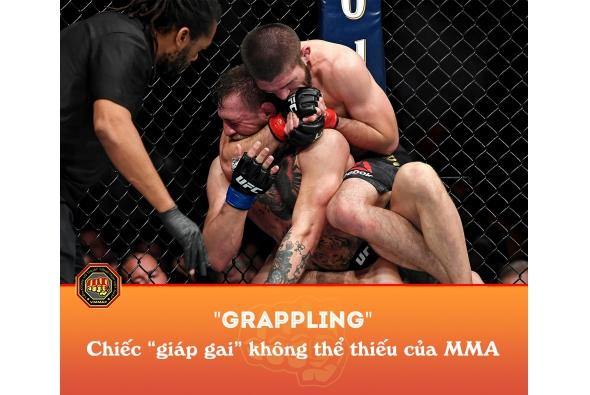 GRAPPLING - Chiếc áo giáp bất ly thân của võ sĩ MMA