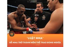 BỘ LUẬT MMA ĐẦU TIÊN ???